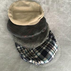Set of 4 Janie and Jack Golfer hats!